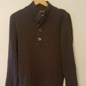 Eddie Bauer Men's Brown Thick Outdoor Sweater XL